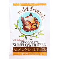 Wild Friends Almond Butter - Chocolate - Single Serve Packets - 1.15 oz - case of 10