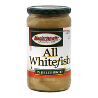 Manischewitz Whitefish in Jelled Broth - Case of 12 - 24 oz.