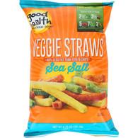 Good Health Veggie Straws - Sea Salt - 6.75 oz - case of 10