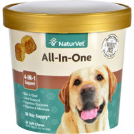 NaturVet All-In-One - Dogs - Cup - 60 Soft Chews