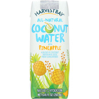 Harvest Bay Coconut Water - Pineapple - 8.45 oz - case of 12
