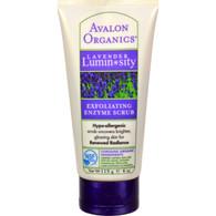 Avalon Organics Exfoliating Enzyme Scrub Lavender - 4 fl oz