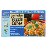 Edwards and Sons Natural Bouillon Cubes - Veggie - Low Sodium - 2.2 oz - Case of 12