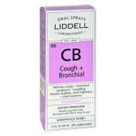Liddell Homeopathic Cough and Bronchial Spray - 1 fl oz