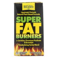 Natural Balance Super Fat Burners - 60 Vegetarian Capsules