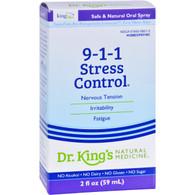 King Bio Homeopathic 911 Stress Control - 2 fl oz