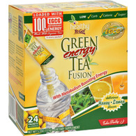 To Go Brands Green Tea Energy Fusion Honey Lemon - 24 Packets