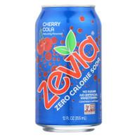 Zevia Soda - Zero Calorie - Cherry Cola - Can - 6/12 oz - case of 4
