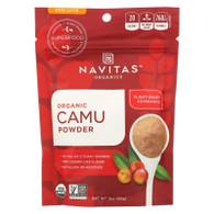 Navitas Naturals Camu Powder - Organic - Raw - 3 oz - case of 6