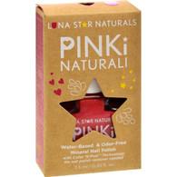 Lunastar Pinki Naturali Nail Polish- Denver (Hot Pink) - .25 fl oz