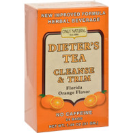 Only Natural Dieter's Tea Cleanse and Trim Orange - 24 Tea Bags