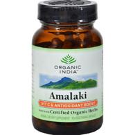 Organic India Amalaki Vitamin C and Antioxidant Boost - 90 Vegetarian Capsules