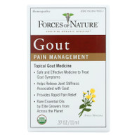 Forces of Nature Organic Gout Control - 11 ml