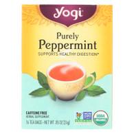 Yogi Tea Purely Peppermint - Caffeine Free - 16 Tea Bags
