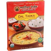 Mother India Organic Dal Tadka - 10.6 oz - Case of 6