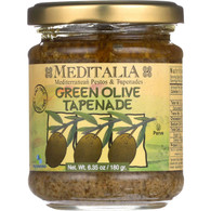 Meditalia Spread - Green Olive Tapenade - 6.35 oz - case of 6