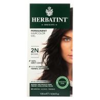 Herbatint Permanent Herbal Haircolour Gel 2N Brown - 135 ml