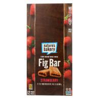 Nature's Bakery Stone Ground Whole Wheat Fig Bar - Strawberry - 2 oz - Case of 12