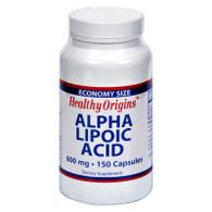 Healthy Origins Alpha Lipoic Acid - 600 mg - 150 Capsules