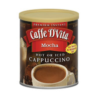 Caffe D'Vita Cappuccino - Mocha - Case of 6 - 16 oz.
