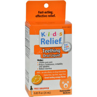 Homeolab USA Kids 0-9 Teething Orange - 0.25 fl oz