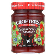 Crofters Fruit Spread - Organic - Premium - Strawberry - 10 oz - case of 6