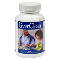RidgeCrest Herbals LiverClean - 60 Vegetarian Capsules