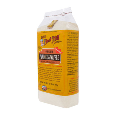 Bob's Red Mill 10 Grain Pancake and Waffle Mix - 26 oz - Case of 4