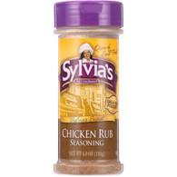 Sylvias Seasoning - Chicken Rub - 4 oz - case of 12