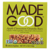 Made Good Granola Bar - Apple Cinnamon - Case of 6 - 5 oz.
