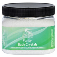 White Egret Bath Crystals - Purity - 16 oz
