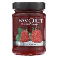 Favorit Preserves - Swiss - Strawberry - 12.3 oz - case of 6