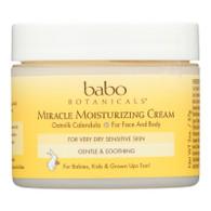 Babo Botanicals Miracle Cream - Moisturizing - Oatmilk - 2 oz