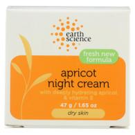 Earth Science Apricot Night Cream - 1.65 oz