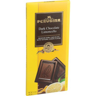Perugina Chocolate Bar - Dark Chocolate - Limoncello - 3.5 oz Bars - Case of 12