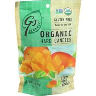 Go Organic Hard Candy - Iced Mint Mango - 3.5 oz - Case of 6
