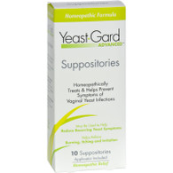 Women's Health Yeast-Gard Advanced Suppositories - 10 Suppositories