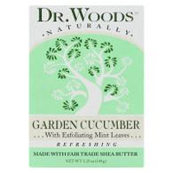Dr. Woods Bar Soap Garden Cucumber - 5.25 oz