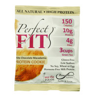 Perfect Cookie Protein Cookie - White Chocolate Macadamia - 1.41 oz - Case of 12
