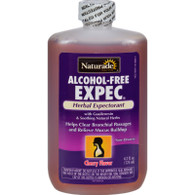 Naturade Alcohol-Free Herbal Expectorant - Natural Cherry Flavor - 4.2 oz