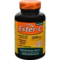 American Health Ester-C - 500 mg - 225 Vegetarian Tablets