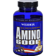 Weider Amino 6000 - 100 Capsules