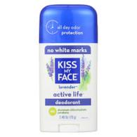 Kiss My Face Active Life Deodorant Lavender - 2.48 oz