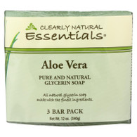 Clearly Natural Bar Soap - Aloe Vera - 3 Pack - 4 oz