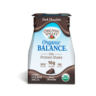 Organic Valley Balance Milk Protien Shake - Chocoloate - Case of 3 - 4/11oz Bottle