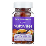 Nutrition Now Multi Vites Gummy Vitamins Fruit - 70 Gummies