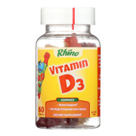 Nutrition Now Rhino Vitamin D Bears - 60 Gummy Bears