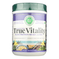 Green Foods True Vitality Plant Protein Shake with DHA Vanilla - 25.2 oz