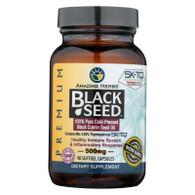 Amazing Herbs Black Seed Black Cumin Seed Oil - 90 Softgels