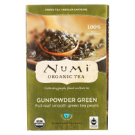 Numi Tea Gunpowder Green Organic Tea - 18 Bags